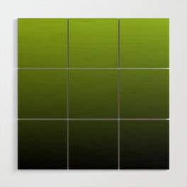 Ombre | Lime Green and Charcoal Grey Wood Wall Art
