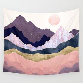 Mauve Mist Wall Tapestry