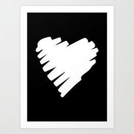 SUDDEN LOVE Art Print