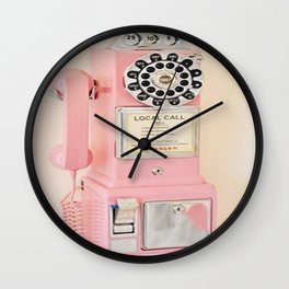 OlD pHoNE Wall Clock