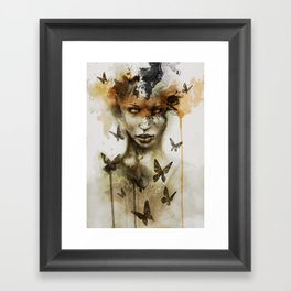 Jay Freestyle - Gaze Framed Art Print