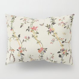 Floral Piece late 18th century Chinese for French market Pillow Sham