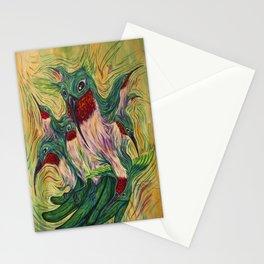 Archilochus Colubris Instabilitas Stationery Cards