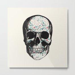 T-Skull Metal Print