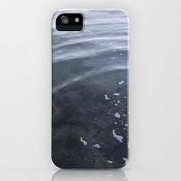 Circle in the water Kits Beach Vancouver iPhone Case
