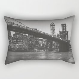 New York Nights Rectangular Pillow
