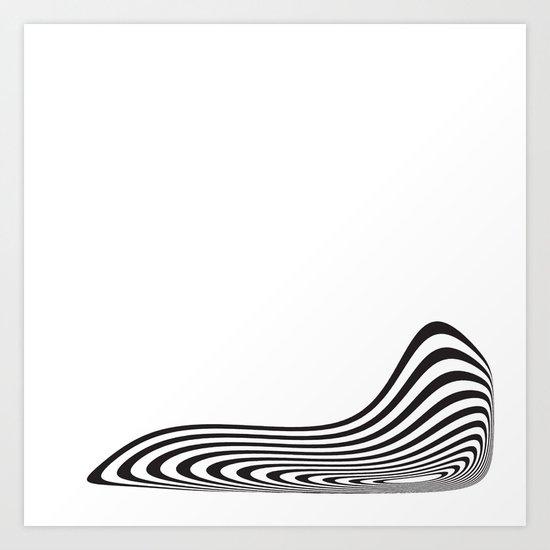 Circle Warp # 3 Art Print