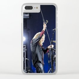 Robert Plant Clear iPhone Case