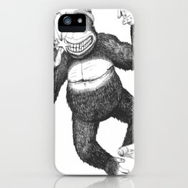 KingKongClaus iPhone Case