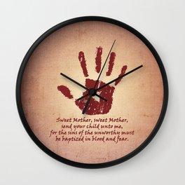 Dark Brotherhood Wall Clock