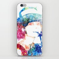 hepburn iPhone & iPod Skins featuring Audrey Hepburn by Heaven7