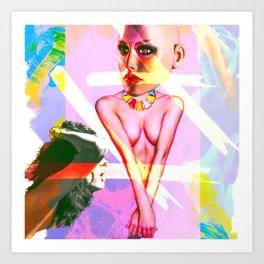 Human Inside Art Print