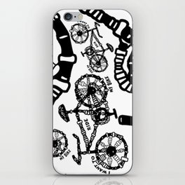 I Want To Ride My Bike iPhone Skin