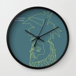 The Weeknd Wall Clock