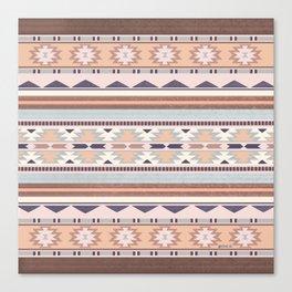 Blush South Western Pattern Canvas Print