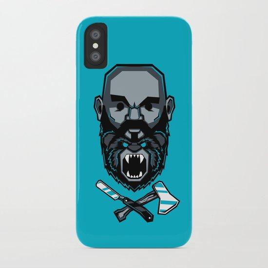 Wild BEARd iPhone Case