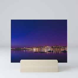Porto by Night. Mini Art Print