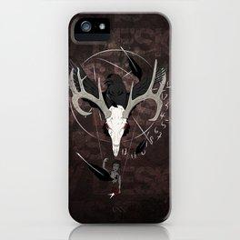 Ravenstag iPhone Case