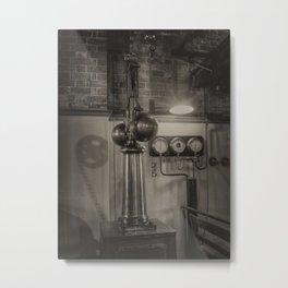 Controlling the pressure Metal Print