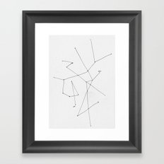 you---------me Framed Art Print