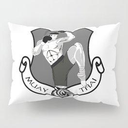 Muay Thai Crest Pillow Sham