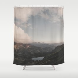 Moonchild - Landscape Photography Shower Curtain
