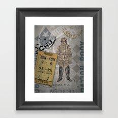 Vaquero Del Spacio Framed Art Print