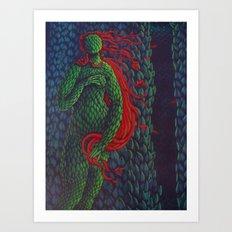 Topiary Venus Art Print