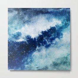 ROYAL BLUE GALAXY Metal Print