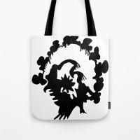 turkey Tote Bags featuring Turkey by ken green art