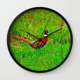 Ringneck Wall Clock