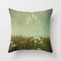 fringe Throw Pillows featuring Fringe II by Dirk Wuestenhagen Imagery
