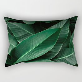 Feuille de banane Rectangular Pillow