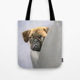 """Oh, You're Home..."" Tote Bag"