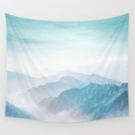 Pastel landscape 04 Wall Tapestry