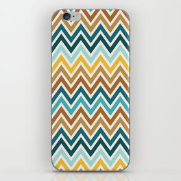 Indie Spice: Cumin Chevron iPhone Skin