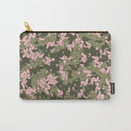 Origami Unicorn Camo PINK Carry-All Pouch