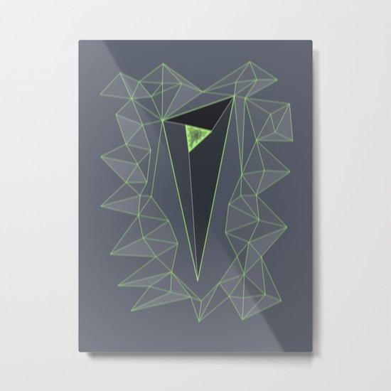valley. Metal Print
