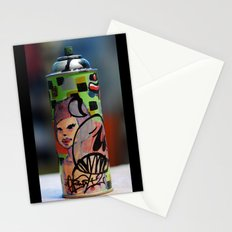 spray can Stationery Cards