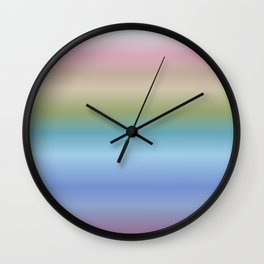 inspired by life Wall Clock