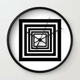 OP ART Wall Clock