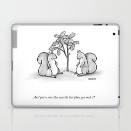Forgetful Squirrel Laptop & iPad Skin