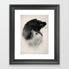 Polar Opposites  Framed Art Print