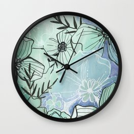 Calming Waters Wall Clock