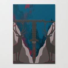 Skyfall Movie Poster Canvas Print