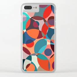 Crowded place Clear iPhone Case