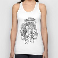 mermaids Tank Tops featuring Mermaids by Christina Dedic