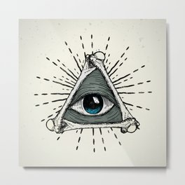 All Seeing Eye Metal Print