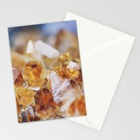 Citrine Light Stationery Cards