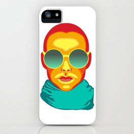 Glasses illustrated iPhone Case
